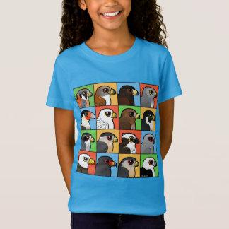 T-Shirt 16 profils de Nord-américain Raptor