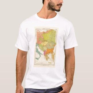 T-shirt 16 un Européen ethnographique