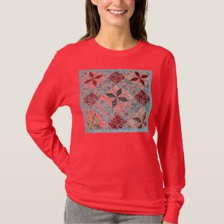 T-shirt 1800sq, édredon d'antiquité d'étoile de Toile de