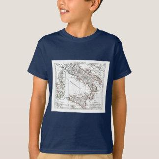 T-shirt 1806 carte - L'Italie (lessive)