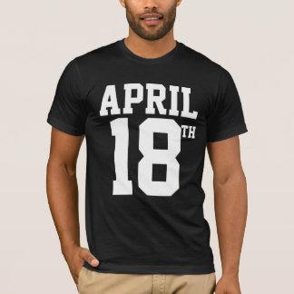 T-shirt 18 avril