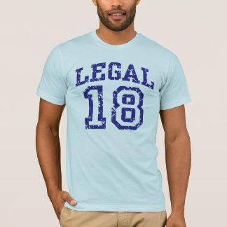 T-shirt 18 juridiques