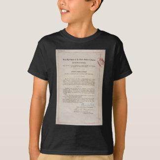 T-shirt 18ème amendement d'interdiction