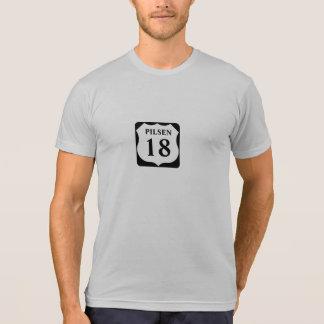 T-shirt 18ème chemise de Pilsen Chicago de rue