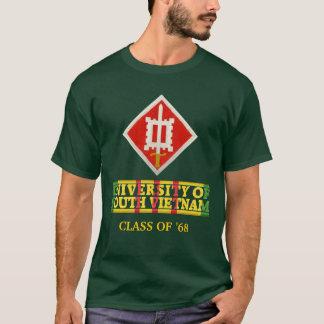 T-shirt 18ème Ingénieur Bgd U de chemise du Vietnam du Sud