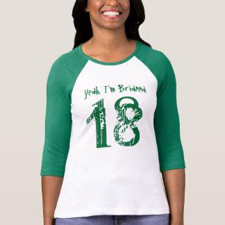 T-shirt 18ème Nom fait sur commande V115 du cadeau