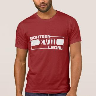 T-shirt 18ème pièce en t juridique de graphique de