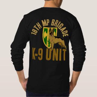 T-shirt 18ème Unité (canine) de la député britannique K-9