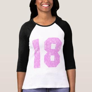 T-shirt 18èmes cadeaux d'anniversaire de filles