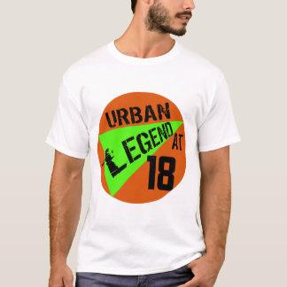 T-shirt 18èmes cadeaux d'anniversaire d'urban legend