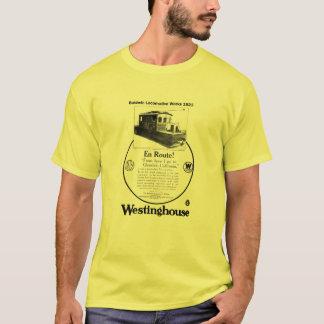 T-shirt 1923 de locomotive de Baldwin-Westinghouse
