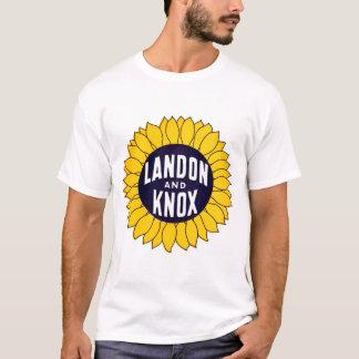 T-shirt 1936 élisez Landon et Knox