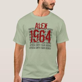 T-shirt 1964 cinquantième anniversaires d'année vintage