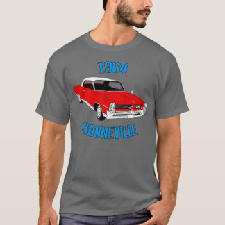 T-shirt 1964 (rouge) de Bonneville