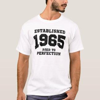 T-shirt 1965 établis âgés à la perfection