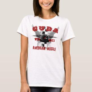 T-shirt 1968 de graphique de Cuda