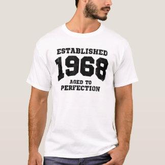 T-shirt 1968 établis âgés à la perfection