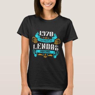 T-shirt 1970 la Naissance des Légendes v2 Féminines