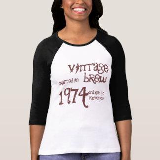 T-shirt 1974 modèle vintage de Brew de l'année 1974