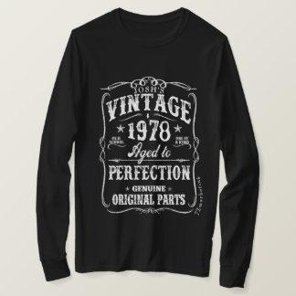 T-shirt 1978 de l'anniversaire 40 de chemise de