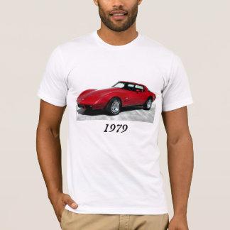 T-shirt 1979 rouge Corvette