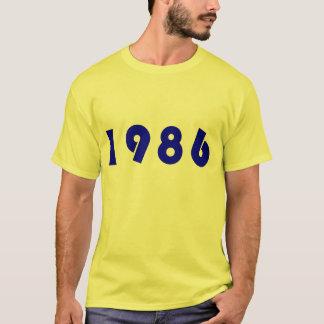 T-shirt 1986