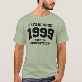 T-shirt 1999 établis âgés à la perfection
