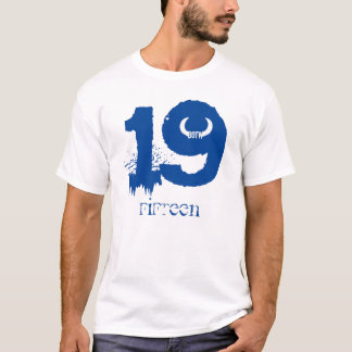T-shirt 19 QUINZE Taureau des bois