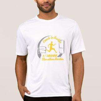 T-shirt 1/10,000 chemise de finisseur de marathon