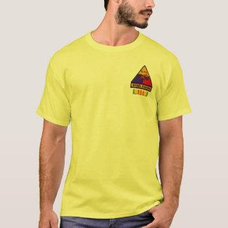 T-shirt 1/77th La Division en acier de tigres d'armure