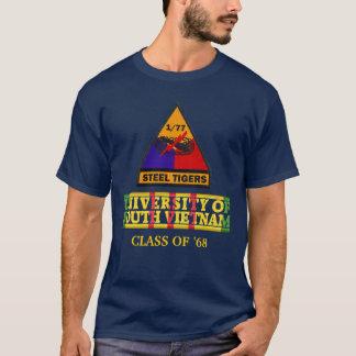 T-shirt 1/77th Université d'armure de chemise du Vietnam