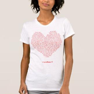 T-shirt 1 coeur des Corinthiens 13