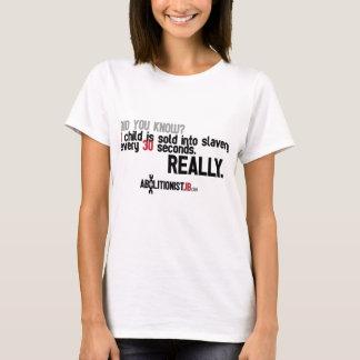 T-shirt 1 enfant a vendu toutes les 30 secondes