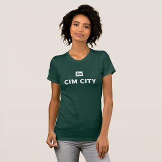 """T-shirt 1x Women's thé «CIM ville """""""