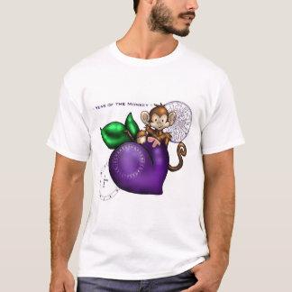 T-shirt 2004 ans du singe ! (prune)