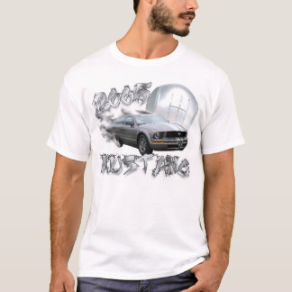 T-shirt 2005 mustang - glace