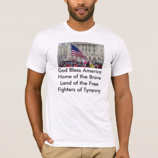T-shirt 2010-09-12_15-27-52_61, Dieu bénissent AmericaHome