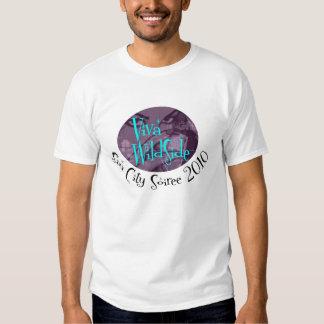 T-shirt 2010 de Soiree de Sin City de cercle de