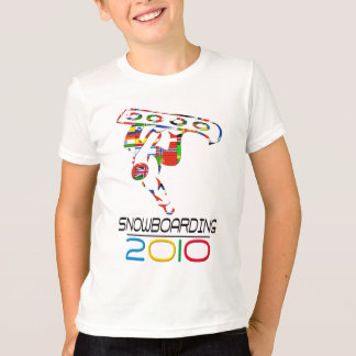 T-shirt 2010 : Faire du surf des neiges