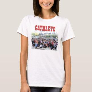 T-shirt 2010 régions boisées de visite de Cathe, mains de