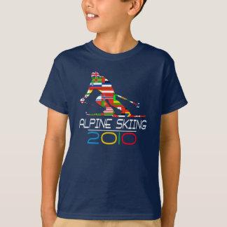 T-shirt 2010 : Ski alpin