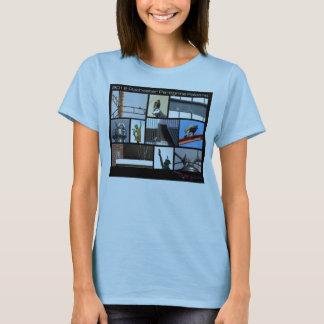 T-shirt 2012 de femelle de faucon pérégrin de