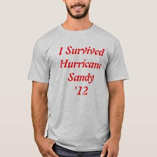 T-shirt 2012 de survie de Sandy d'ouragan !