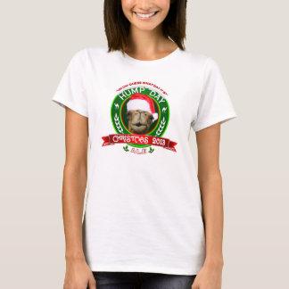 T-shirt 2013 de bière anglaise de Noël de chameau