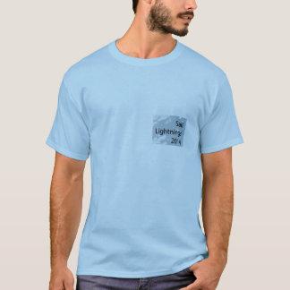 T-shirt 2014 de foudres de voile