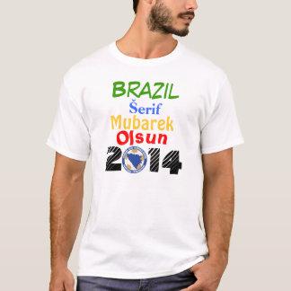 T-shirt 2014 de la Bosnie Brésil