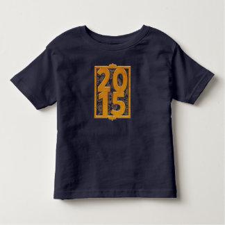 T-shirt 2015 vintage de Steampunk 3 années de bébé