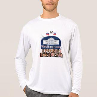 T-shirt 2016 de Longsleeve de la Maison Blanche