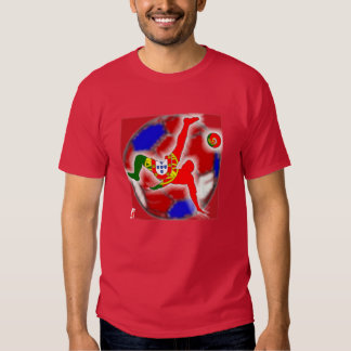 T-shirt 2016 d'euro du Portugal