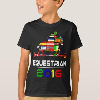 T-shirt 2016 : Équestre